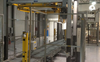 Blackstar Supply Fully Automatic Palletising System & Stretch Wrapper for Cooley Distillery