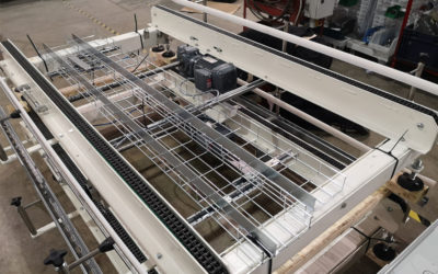 Blackstar supply 16 pockets of Conveyors to Crown Packaging Seville