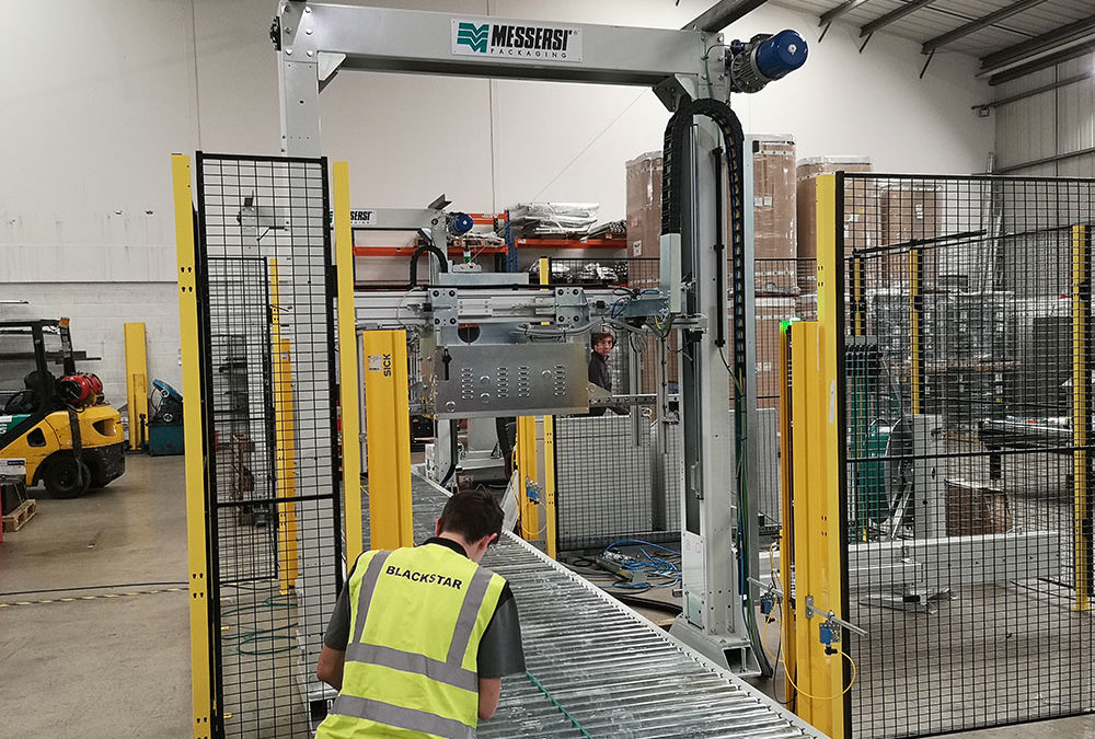 Pallet strapping system to Global Manufacturing Supplier Meritor
